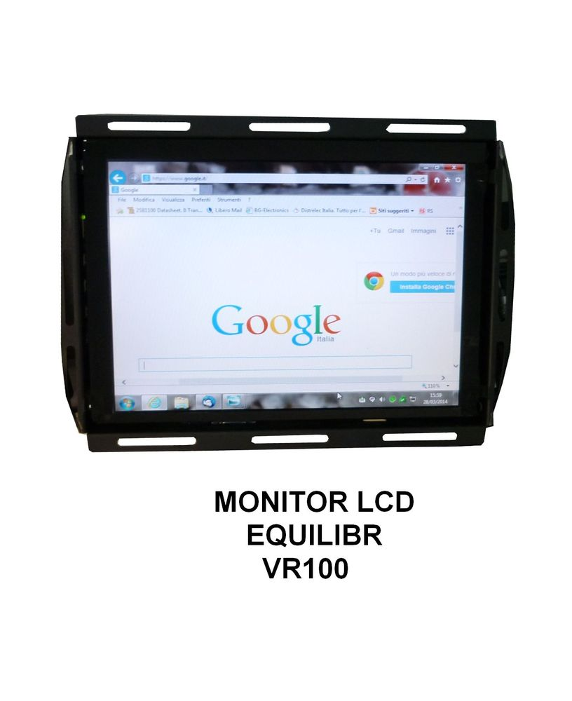 MONITOR LCD EQUILIBR VR100