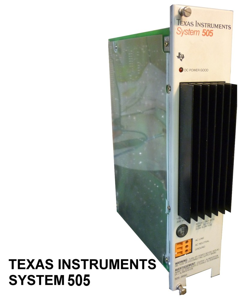 TEXAS INTRUMENTS SYSTEM 505
